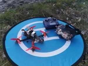 Drone FPV HD pour cinématique dynamique