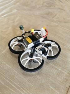 Drone cinématique intéreur - HomFPV Wingsuit S HD